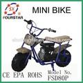 fourstar barato venda direta da fábrica de gás mini motos de bolso para venda