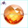 Round Shape Machine Cut Loose Faceted Gemstone