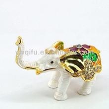 New design souvenir items for couples indian handicraft elephant QF3733