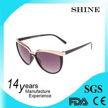 Customized Color outdo beijing glasses Women Cat Eye Sunglasses