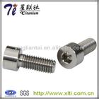 Supply 3mm DIN912 Titanium Screw with Socket Cap