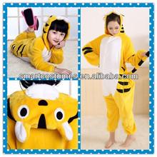 tiger kids onesie animal pajamas coral fleece adult tiger pajamas