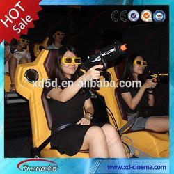 Amazing interactive 7d Simulator cinema 7d movie for sale