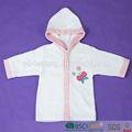 Baratos 100% toalla de algodón bebé bata patrón
