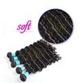 Extensiones de clip de colores para el pelo baratas, nuevas extensiones de pelo rizado afro de clip para mujer de color
