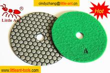 Alimentado de diamante herramientas de mano, diamante pulido en seco del disco, herramientas de alfarería