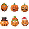 Wholesale Halloween Smile Foam Pumpkin Face Mask