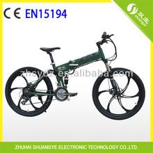 cheap aluminum folding electric bikes 50KM