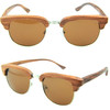 2014 handmade fashion wayfarer bamboo sunglasses/ wholesale wooden sunglasses