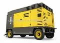 Atlas Copco alta presión industrial de tornillo rotativo diesel portátil compresores de 25bar 30bar / compresor de aire para perforación y ming