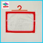 PVC plastic packaging bag, hook hanger bag, underwear shirt bag Alibaba China