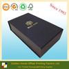 Matt Black Foldable Custom Shoe Box Paper Shoe Box