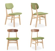 213 antique high back chairs