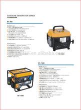 1KW Gasoline Generator 1 Cylinder 2 Stroke