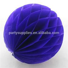 Dark Blue Honeycomb Ball Hanging Decoration Party Supplies Weddings