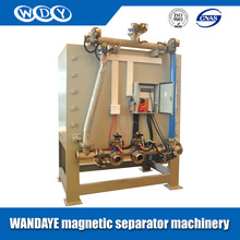 New type electromagnetic slurry magnet iron remover,dry magnetic separator with iso