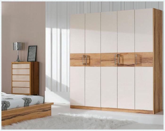 Slaapkamer Massief Hout : Ritz 5 deuren massief hout fineer mdf ...