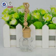 empty perfume bottle/12ml iphone shaped car air freshener/car hanging