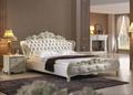 L681- 2# de cuero pvc blanco francés mueblesdeldormitorio conjunto