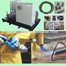high pressure water jet machine industrial oil tank cleaning machines
