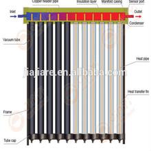 thermal pressurized solar super vacuum tube heat pipe solar collector