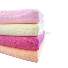 micro fibre brand gift custom make hot pink bath towels