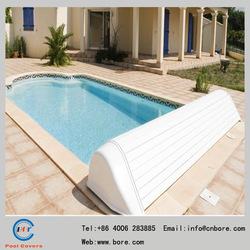 China Automatic hard plastic/Waterproof/high quality/Swimming Pool Covers