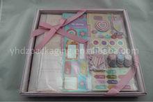"""2014 Hot Selling Handmade Paper Scrapbook Kit/Scrapbooking Kit 12"""" * 12"""""""