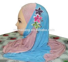 factory directly 2014 New Children girl Arab muslim hijab scarf and shawl