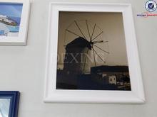 Fridge magnet photo frame/acrylic magnetic photo frame/plexiglass magnet photo frame