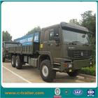 SINOTRUK HOWO heavy duty 371HP steyr 6x6 cargo truck