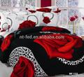 3d lençois com flor impresso rainha king size colchas de luxo exclusivo tampa do duvet conjunto roupa de cama 3d cama set
