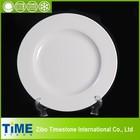 2014 Ceramic White Hotel Used Dinner Plate