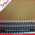 Real de cuero de la pu acudieron material de la tela para los zapatos, venta caliente de la pu de cuero sintético en américa del sur