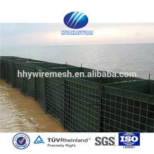 Flood barrier, hesco barrier bastion