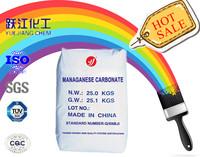 manganese carbonate enamel pigment, varnish dryer industry