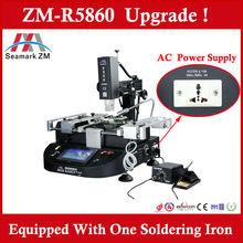 Hot sale ! Zhuomao Manual hot air bga rework equipment ZM-R5860 motherboard repair machine for Laptop/PS3/Cellphone