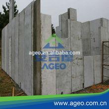 light weight prefabricated foam concrete wall panel