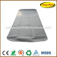 PVC dot underlayer on nonwoven felt