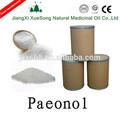 ที่ขายดีที่สุดที่มีคุณภาพสูง99%ธรรมชาติผงpaeonolเป็นanti- อักเสบยาเสพติดวัสดุที่ดีในประเทศจีน