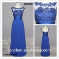 9806B Latest Fashion Cap Sleeve Lace New Model Women Dress 2014