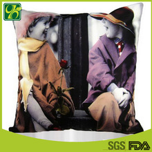 Popular Printing 100% Polyester Cushion for Home Decoration
