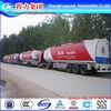 CN HuBei Suizhou 3 axles 12 wheels carbon steel 20000L to 80000L diesel oil fuel tank trailer
