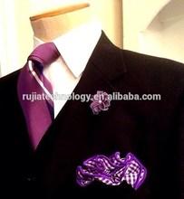 100% silk fashion ties with pocket squares
