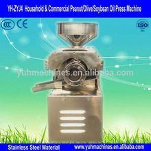Stainless Steel Olive Oil Press/Small Screw Oil Press/Hemp Seed Oil Press