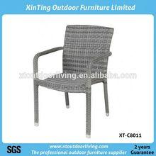 Outdoor garden antique rattan side chairs