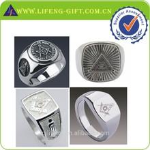 Custom Silver Masonic Ring Wholesale