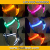 Wholesale Nylon Safety led dog harness dog harness leash flashing glowing dog body harness