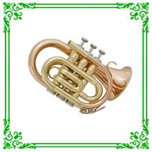XTR002-1 Pocket Trumpet /Good Quality Trumpet
