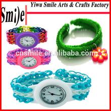 2014 fun cheap 2100 pcs Crazy loom bandz for silicone loom rubber bracelets